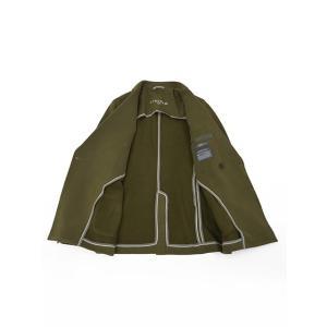 CIRCOLO 1901【チルコロ】ダブルジャージージャケット カシミヤタッチ 9CU2004MB 234 コットン オリーブ|cinqessentiel|07