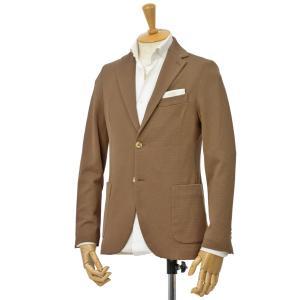 CIRCOLO 1901【チルコロ】オックスフォード ジャージージャケット ACU225228 COC コットン ブラウン|cinqessentiel