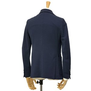 CIRCOLO 1901【チルコロ】オックスフォード ジャージージャケット ACU225228 BLU コットン ネイビー|cinqessentiel|06