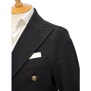 CIRCOLO 1901【チルコロ】ジャージーダブルジャケット カシミヤタッチ 9204A233501MB 001 コットン ブラック|cinqessentiel|02
