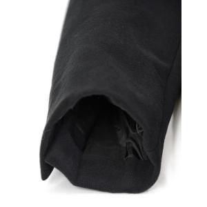 CIRCOLO 1901【チルコロ】ジャージーダブルジャケット カシミヤタッチ 9204A233501MB 001 コットン ブラック|cinqessentiel|05