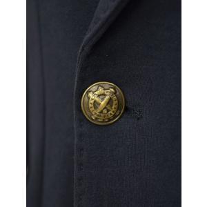 CIRCOLO 1901【チルコロ】ジャージーダブルジャケット カシミヤタッチ 9204A233501MB 851 コットン ネイビー|cinqessentiel|03