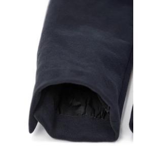 CIRCOLO 1901【チルコロ】ジャージーダブルジャケット カシミヤタッチ 9204A233501MB 851 コットン ネイビー|cinqessentiel|05