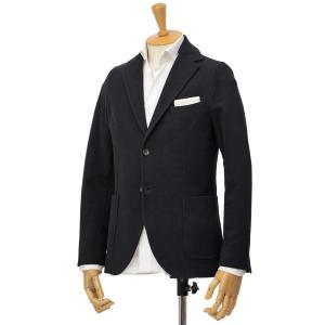 CIRCOLO 1901【チルコロ】ジャージージャケット カシミヤタッチ 9204A233001 001 コットン ブラック cinqessentiel