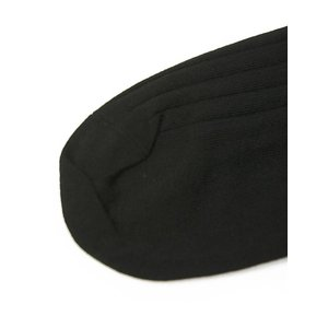 CORGI【コーギー】ソックス靴下 80-45-4011 plain rib sock cotton nylon BLACK コットンナイロン薄手 ブラック|cinqessentiel|03