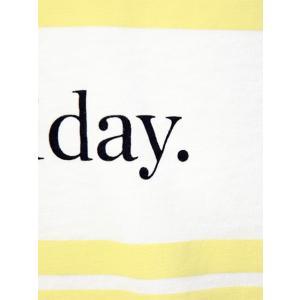 CUISSE DE GRENOUILLE【キュイス ドゥ グルヌイユ】プリントカットソー GALET 01 The great holiday. コットン ホワイト|cinqessentiel|03
