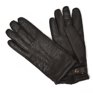 DENTS【デンツ】手袋/グローブ 15-1564 Bark Peccary&Cashmere lining(ブラウン ペッカリー&カシミアライニング)|cinqessentiel