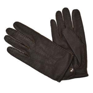DENTS【デンツ】手袋/グローブ 15-1043 Bark Peccary&No lining(ブラウン ペッカリー)|cinqessentiel