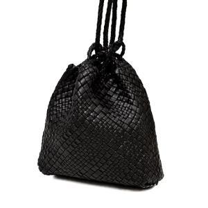 FALORNI【ファロルニ】巾着ショルダーバッグ F2056 F143BLACK ブラック|cinqessentiel|02