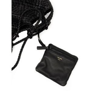 FALORNI【ファロルニ】巾着ショルダーバッグ F2056 F143BLACK ブラック|cinqessentiel|07