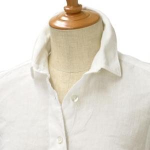 Finamore【フィナモレ】ムジリネンシャツ 010608 13 GIULIA  linen WHITE(ホワイト) cinqessentiel