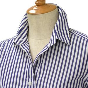 Finamore【フィナモレ】ロンドンストライプシャツ 840051 3 CLELIA cotton STRIPE WHITE/NAVY(ストライプ ホワイト/ネイビー) cinqessentiel