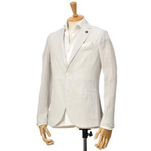 Giannetto【ジャンネット】シングルジャケット 0103-850CORA 0003 リネン ベージュ|cinqessentiel