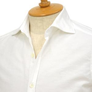Giannetto【ジャンネット】オックスフォードシャツ SLIMFIT 14637L81 001 コットン ホワイト|cinqessentiel