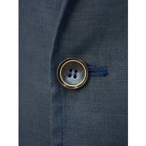Giannetto【ジャンネット】シングルジャケット AG833JK 009 リネン ネイビー|cinqessentiel|05