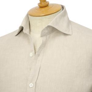Giannetto【ジャンネット】リネンシャツ VINCIFIT AG85037V81 004 グレー|cinqessentiel