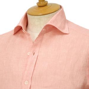 Giannetto【ジャンネット】リネンシャツ VINCIFIT AG85137V81 001 ピンク|cinqessentiel