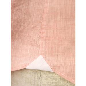 Giannetto【ジャンネット】リネンシャツ VINCIFIT AG85137V81 001 ピンク|cinqessentiel|05