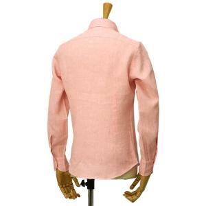 Giannetto【ジャンネット】リネンシャツ VINCIFIT AG85137V81 001 ピンク|cinqessentiel|06