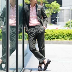 Giannetto【ジャンネット】リネンシャツ VINCIFIT AG85137V81 001 ピンク|cinqessentiel|08