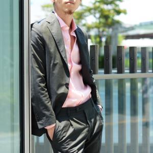 Giannetto【ジャンネット】リネンシャツ VINCIFIT AG85137V81 001 ピンク|cinqessentiel|09