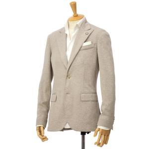 Giannetto【ジャンネット】ピークドジャケット 9203A357GIAS 0001 ポリアクリルウール ベージュ|cinqessentiel
