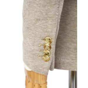 Giannetto【ジャンネット】ピークドジャケット 9203A357GIAS 0001 ポリアクリルウール ベージュ|cinqessentiel|04