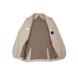 Giannetto【ジャンネット】ピークドジャケット 9203A357GIAS 0001 ポリアクリルウール ベージュ|cinqessentiel|06