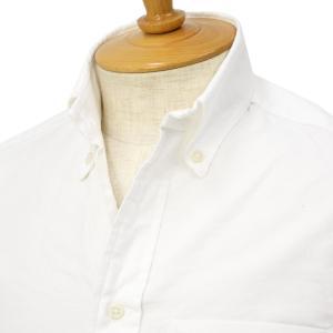 GITMAN VINTAGE【ギットマン ヴィンテージ】オックスフォードシャツ U400-10 コットン ホワイト|cinqessentiel
