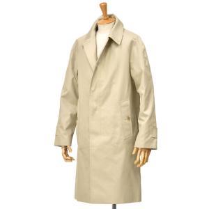 GRENFELL【グレンフェル】ステンカラーコート SLIM CAMPBELL GRENFELL CLOTH STONE コットン ライトベージュ|cinqessentiel
