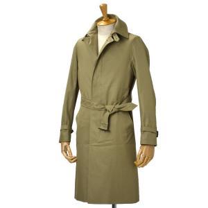 GRENFELL【グレンフェル】ベルテッドステンカラーコート Kilburn Grenfell cloth Beige コットン ベージュ|cinqessentiel