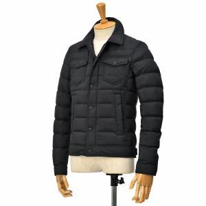 HERNO【ヘルノ】デニムジャケットタイプ PI011ULE-19288/I 9300 ナイロン ブラック|cinqessentiel