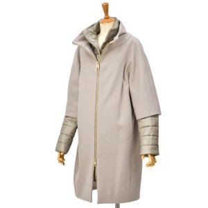 HERNO【ヘルノ】中綿コクーンコート CA0040D-M01 39601+12017 2600 ウール ナイロン モーブ|cinqessentiel