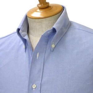 INDIVIDUALIZED SHIRTS【インディビジュアライズドシャツ】オックスフォードボタンダウンシャツ SLIM FIT CAMBRIDGE OX cotton BLUE(ブルー) cinqessentiel