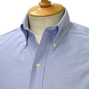 INDIVIDUALIZED SHIRTS×RESOLUTE(林 芳亨氏) Special Model(Front 6 Button)【インディビジュアライズドシャツ】ボタンダウンシャツ OXFORD BLUE(ブルー)|cinqessentiel