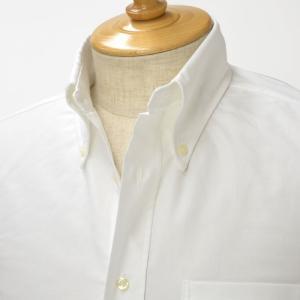 INDIVIDUALIZED SHIRTS【インディビジュアライズドシャツ】オックスフォードボタンダウン半袖シャツ STANDARD FIT CAMBRIDGE OX cotton WHITE(ホワイト)|cinqessentiel