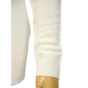 JOHN SMEDLEY【ジョンスメドレー】長袖タートルネックニット CATKIN SNOW WHITE ウール ホワイト|cinqessentiel|04