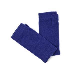 Johnstons【ジョンストンズ】ニットグローブ HAD03215 SD4581 Tuareg カシミヤ ブルー|cinqessentiel
