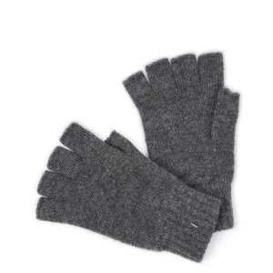 Johnstons【ジョンストンズ】グローブ HAY02223 HA742455 カシミヤ Dark Granite ダークグレー|cinqessentiel