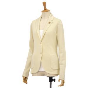 LARDINI【ラルディーニ】ニットジャケット P8DIANTHA EE50010 100 コットン アイボリー cinqessentiel