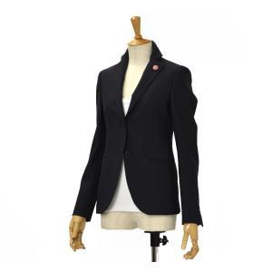 【size36】LARDINI【ラルディーニ】テーラードジャケット A8J LAVANDA D9515 80 ウール ネイビー|cinqessentiel