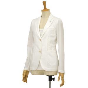 LARDINI【ラルディーニ】コードレーンシャツジャケット CRIN EEC685 111 コットン ホワイト|cinqessentiel