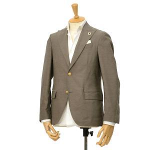 LARDINI【ラルディーニ】× giab's ARCHIVIO パッカブルトラベラージャケット EASY JM964AQ/EGEW52811/2 ウールナイロンストレッチ グレージュ|cinqessentiel