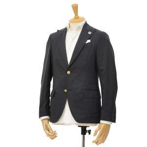 LARDINI【ラルディーニ】× giab's ARCHIVIO パッカブルトラベラージャケット EASY JM964AQ/EGEW52811/1 ウールナイロンストレッチ ネイビー|cinqessentiel