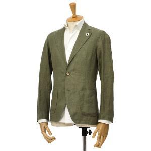 LARDINI【ラルディーニ】リネンシャツジャケット JPAMAJ/EGC1006/500 リネン カーキ|cinqessentiel
