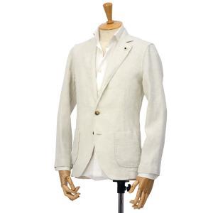 LARDINI【ラルディーニ】シャツジャケット JPAMAJ/EGC1048/100 リネン エクリュ|cinqessentiel