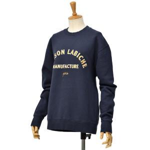 Maison Labiche【メゾン ラビッシュ】スウェット MAISON LABICHE MIDNIGHT BLUE コットン ネイビー|cinqessentiel