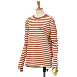 Maison Labiche【メゾン ラビッシュ】長袖ボーダーカットソー FRENCH TOUCH OFF WHITE KETCHUP オフホワイト レッド|cinqessentiel