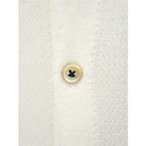 McLauren【マックローレン】パイル半袖シャツ DESKU 006 コットンレーヨン エクリュ|cinqessentiel|03