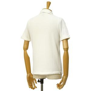 McLauren【マックローレン】パイル半袖シャツ DESKU 006 コットンレーヨン エクリュ|cinqessentiel|05